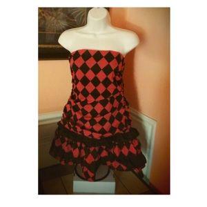 Trendy mini dress